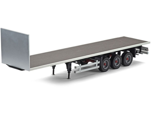 Carson 1/14 3 Axle Flat Bed Trailer C907081