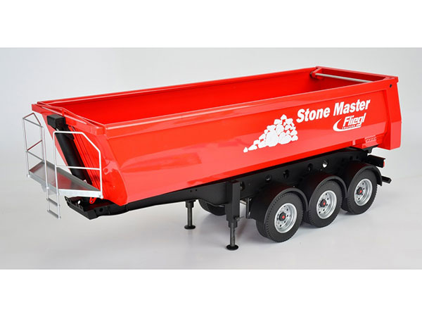 Carson 3 Axle Stone Master 6 Wheel Tipping Trailer C907216