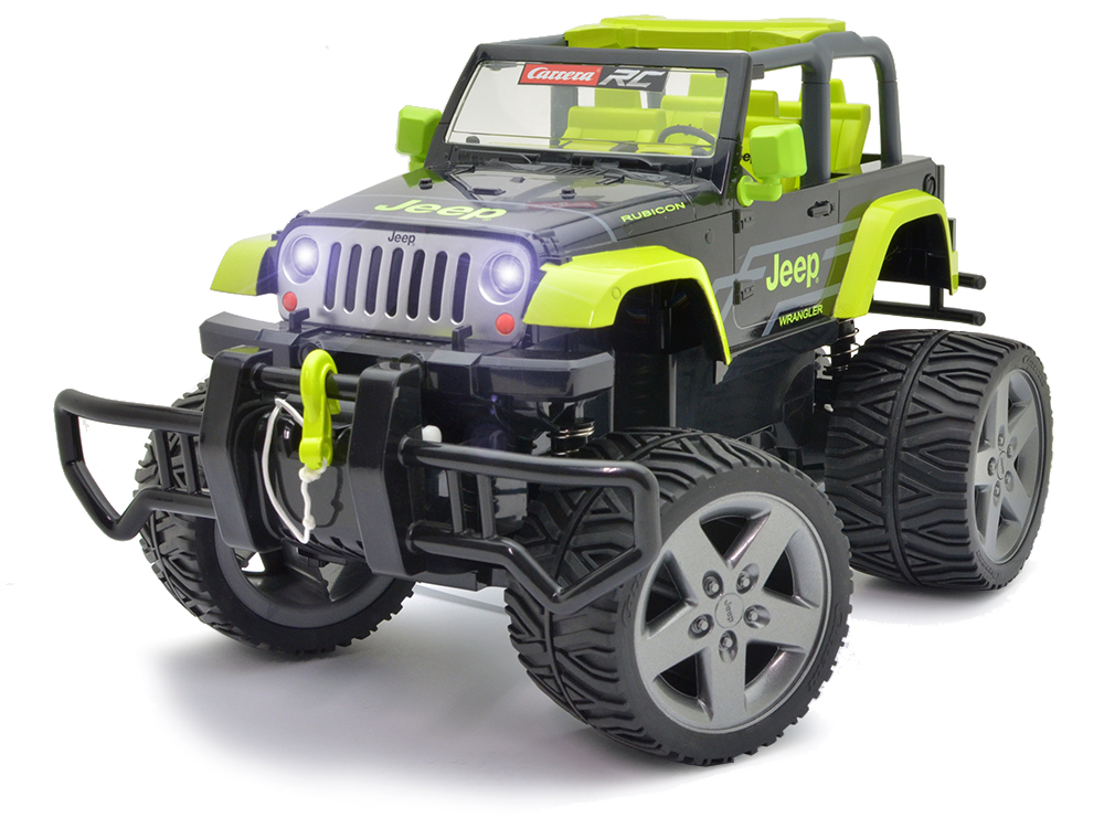 Carrera Jeep Wrangler Rubicon With Winch CA162104