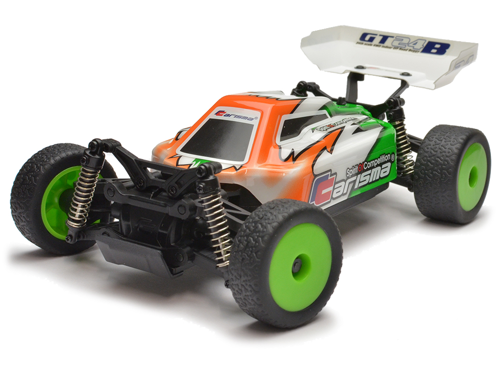 Carisma 1/24 GT24B Brushless Micro RTR Buggy - Green CA57668G