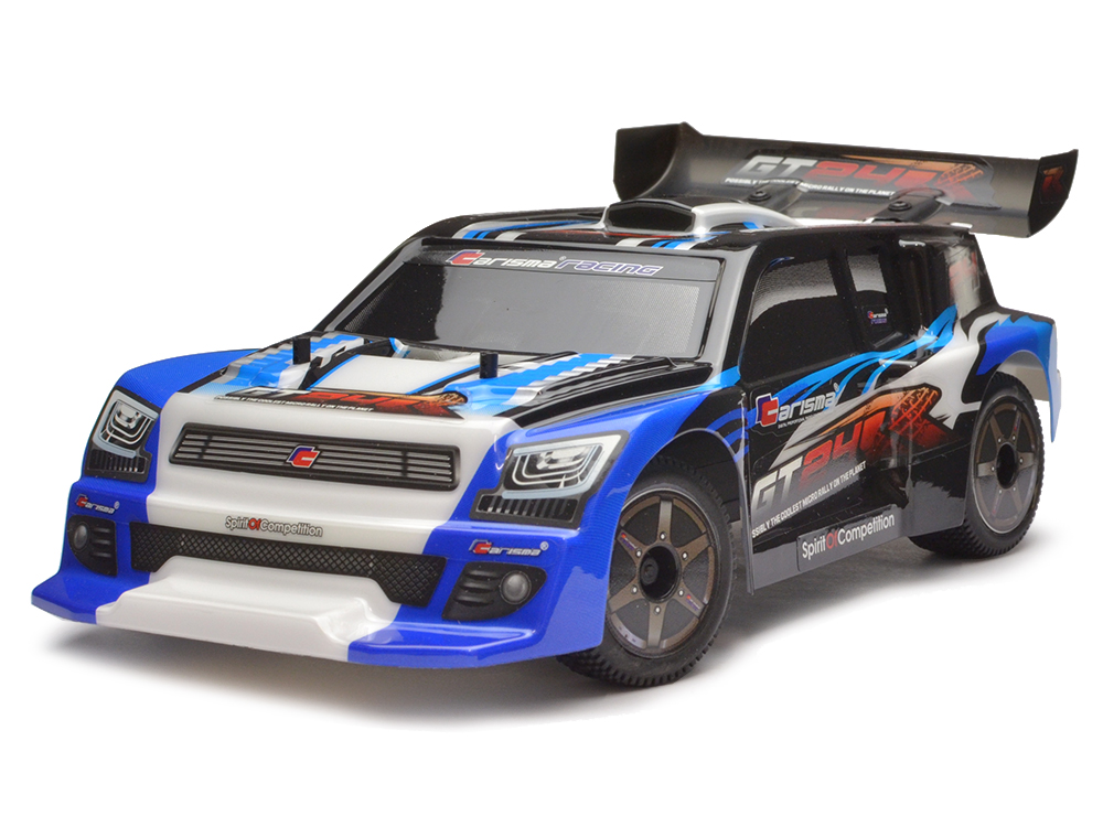 Carisma GT24R 1/24th 4WD Brushless Micro Rally Car - Blue CA57968B