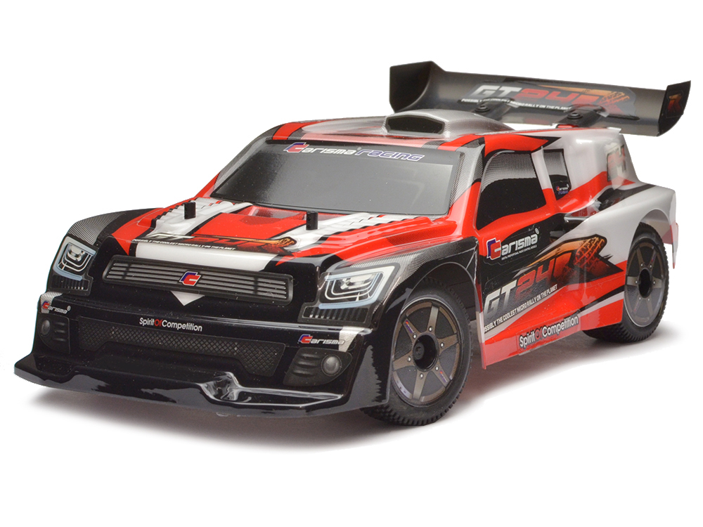 Carisma GT24R 1/24th 4WD Brushless Micro Rally Car   Red CA57968R