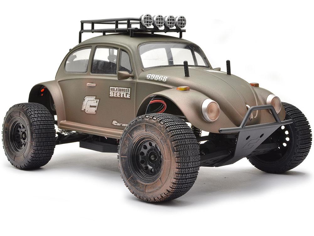 ... Electric Models » Carisma M10DT 1/10 Military VW Baja Beetle 2wd ARTR