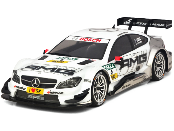 Carisma GT10RS Mercedes AMG Coupe DTM (No.6 White) Ready Set CA71568