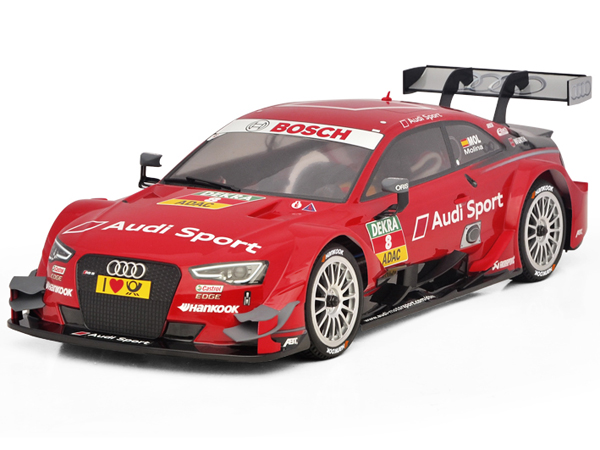 Carisma GT10RS Audi RS5 DTM (No.8 Red) Ready Set CA71868
