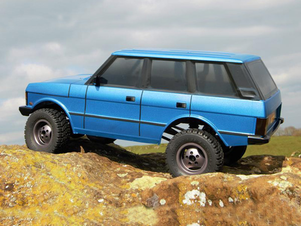 Carisma Scale Adventure SCA-1E 1981 4-Door Range Rover Deluxe Kit with Alloy Wheels CA81168