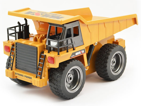 Huina 1:18 Dump Truck with Die Cast Cab CY1540