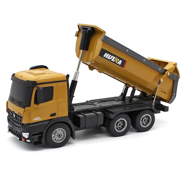 HuiNa 1: 14 Tipper/ Dump Truck 2.4G 10CH with Die Cast Cab, Bucket and Wheels CY1573