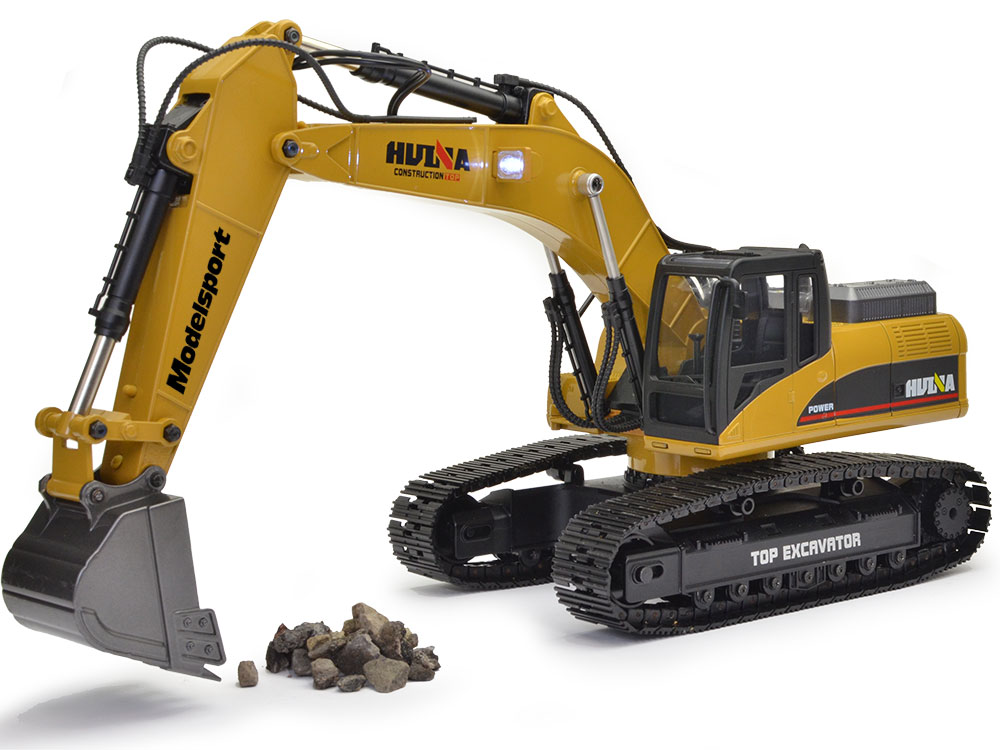 Huina 1:14 Full Alloy 23 channel 2.4GHz Excavator (Version 3.0) CY1580