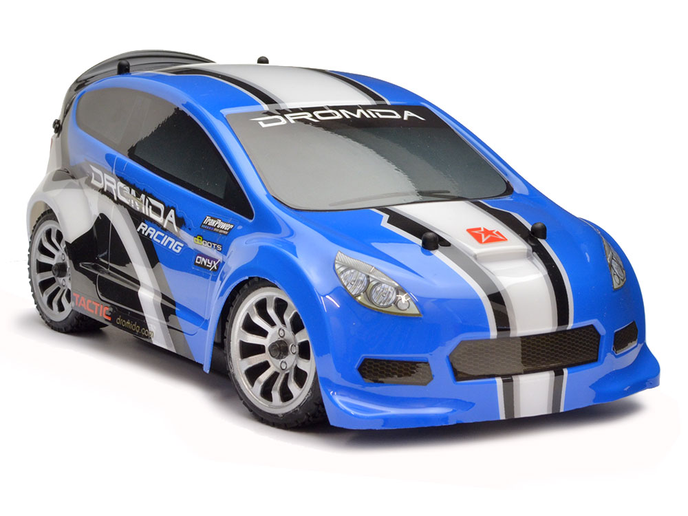 Dromida RC4.18 1/18 Brushless Rally Car RTR 2.4Ghz - Blue DIDC0076