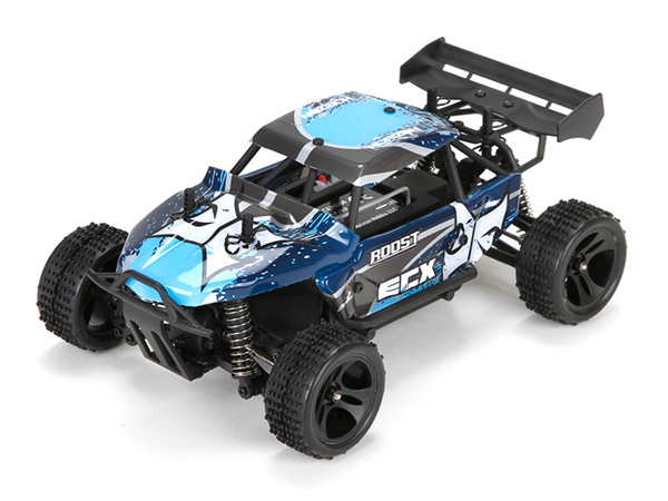 ECX Roost 1:24 4WD Desert Buggy RTR - Blue and Grey ECX00015T1