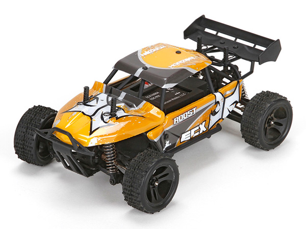 ECX Roost 1:24 4WD Desert Buggy RTR - Orange and Grey ECX00015T2