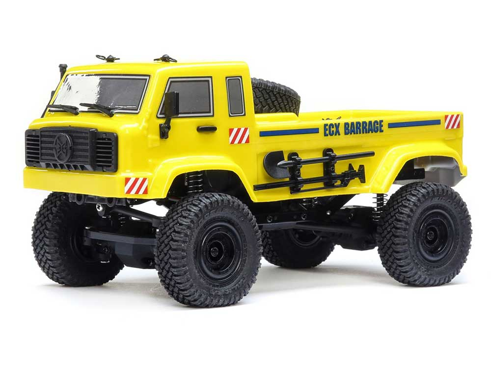 ECX 1/24 Barrage UV 4WD Scaler Crawler - Yellow ECX00019T2
