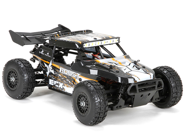ECX 1:18 Roost 4WD Desert Buggy: Black/ Orange RTR ECX01005IT1
