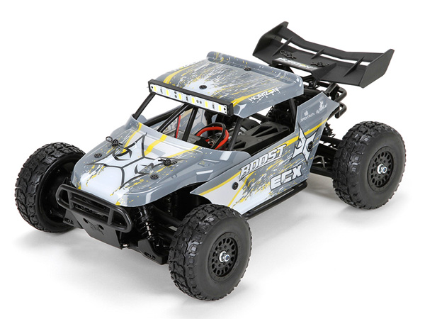 ECX 1:18 Roost 4WD Desert Buggy: Grey/ Yellow RTR ECX01005IT2