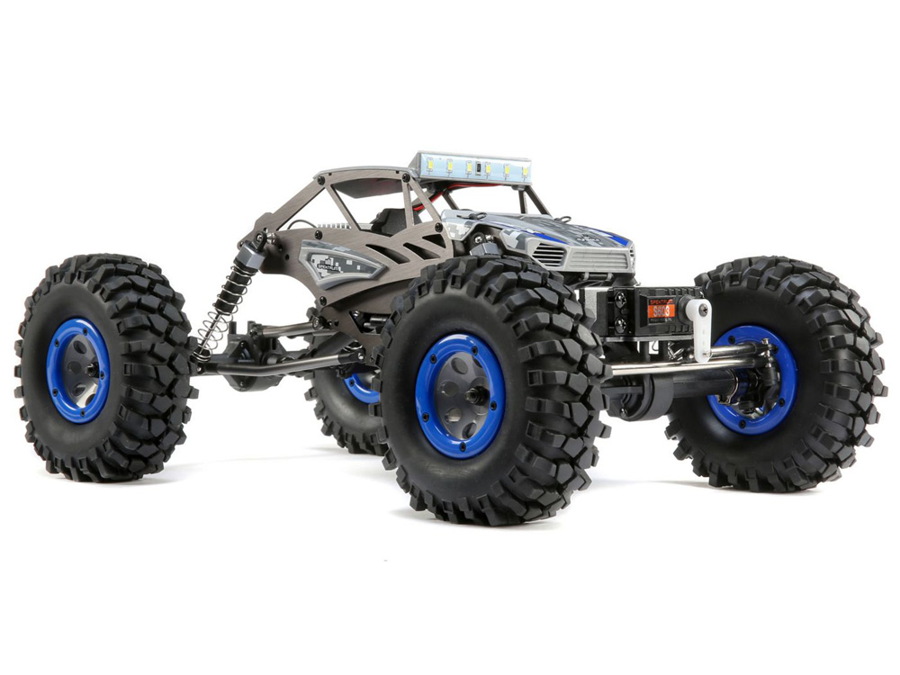 ECX Temper Gen 2 1:18 4wd Brushed - Blue ECX01015IT2