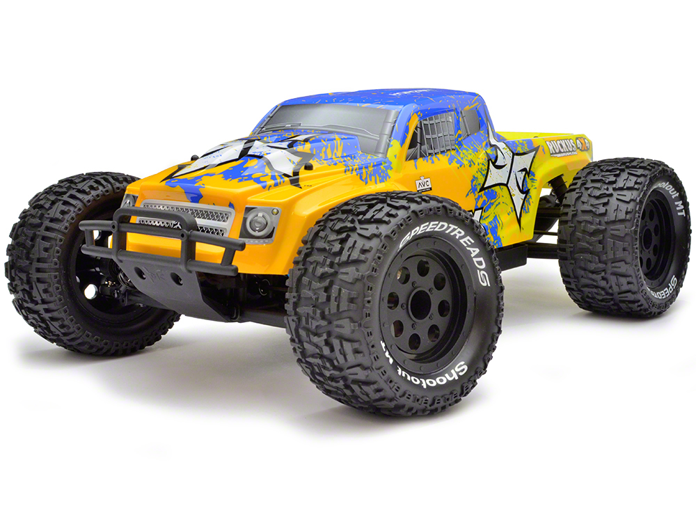 ECX Ruckus 1/10th 4WD Monster Truck Brushless with AVC ECX03016I