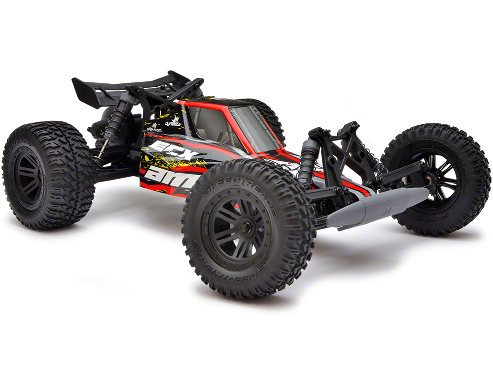 ECX AMP 1:10 2WD Desert Buggy: Black/ Red/ Yellow RTR ECX03029IT1