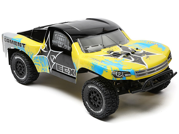 ECX 1/10 2wd Torment SCT BD Lipo: Yellow/ Blue RTR INT ECX03133IT2