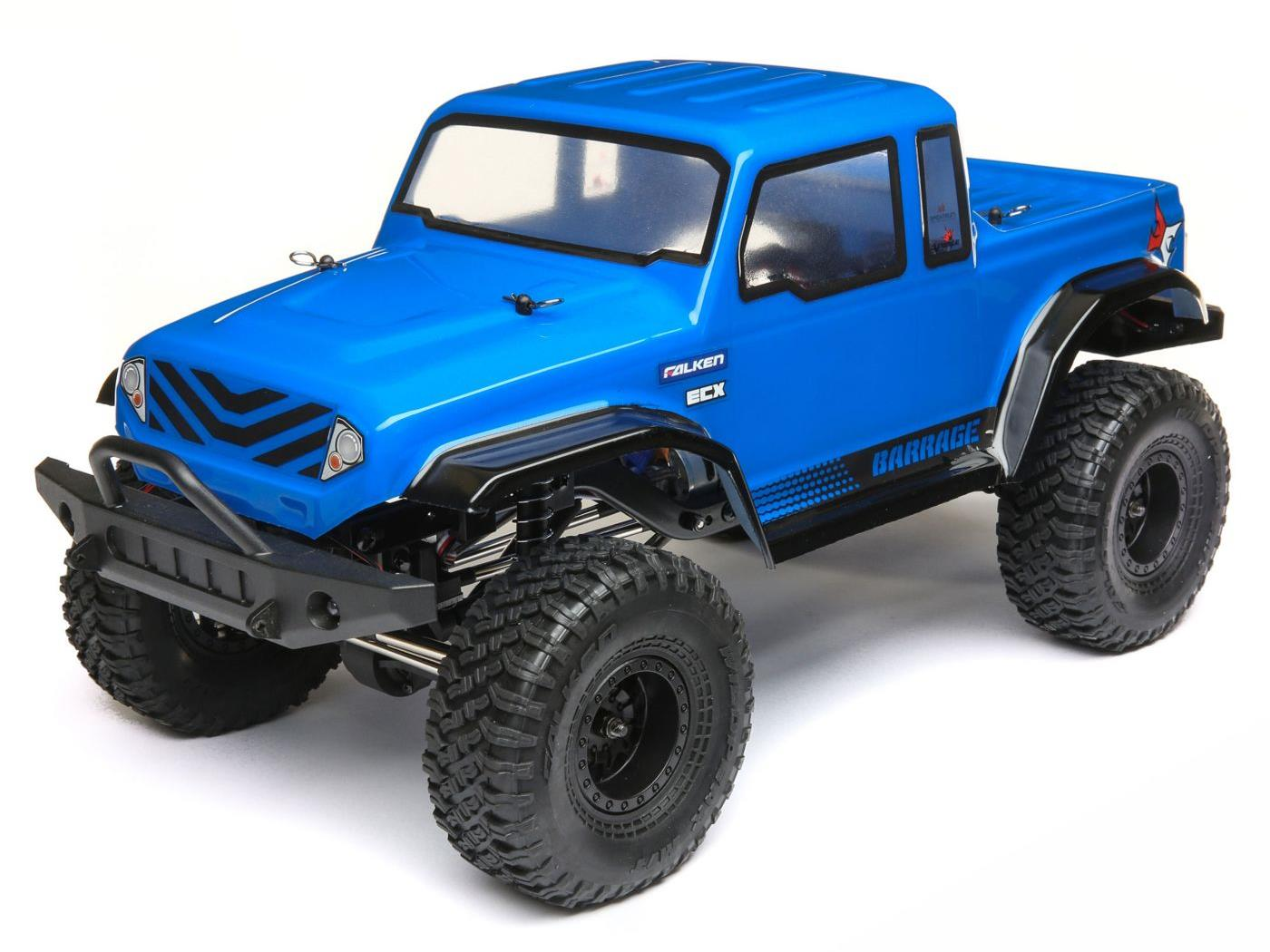 ECX 1/12 Barrage Gen2 4WD 1.55 Scaler Bd: Blue RTR Int ECX01013IT1