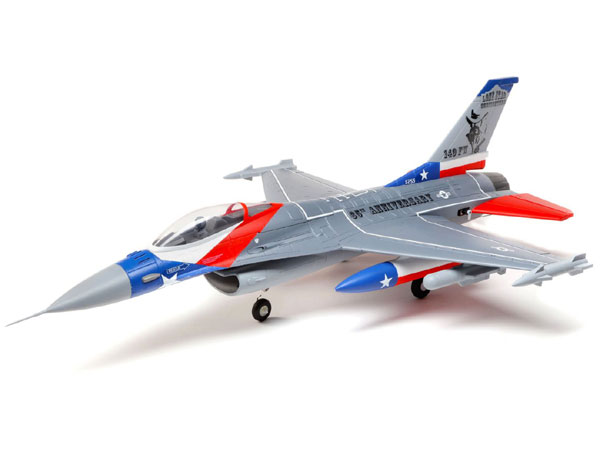 E-Flite F-16 Falcon 64mm EDF BNF Basic with AS3X and SAFE Select EFL9850