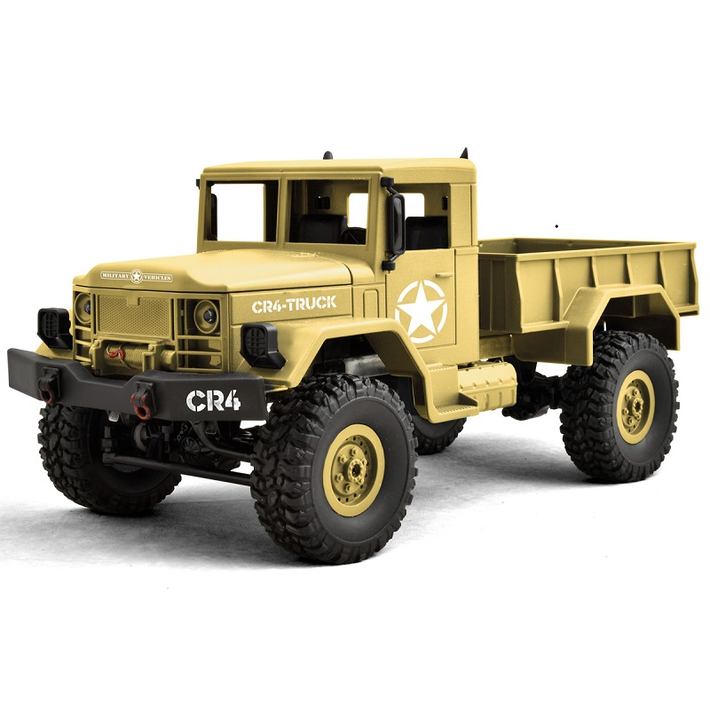 Funtek CR4 1/16th 4WD Military RTR Truck (Sand Version) FTK-CR4-SD