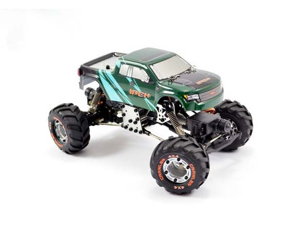 FTX Ibex Micro 1/24th 4WD/4WS Rock Crawler RTR (Green Cab) FTX5501GN