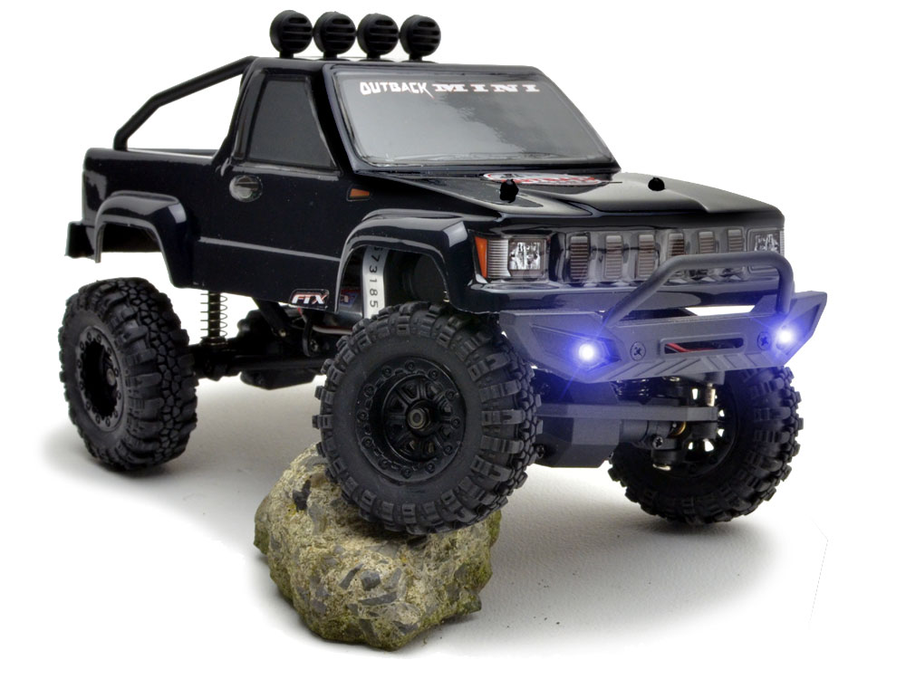 FTX Outback Mini 1:24 Trail Ready-To-Run - Black FTX5502BK