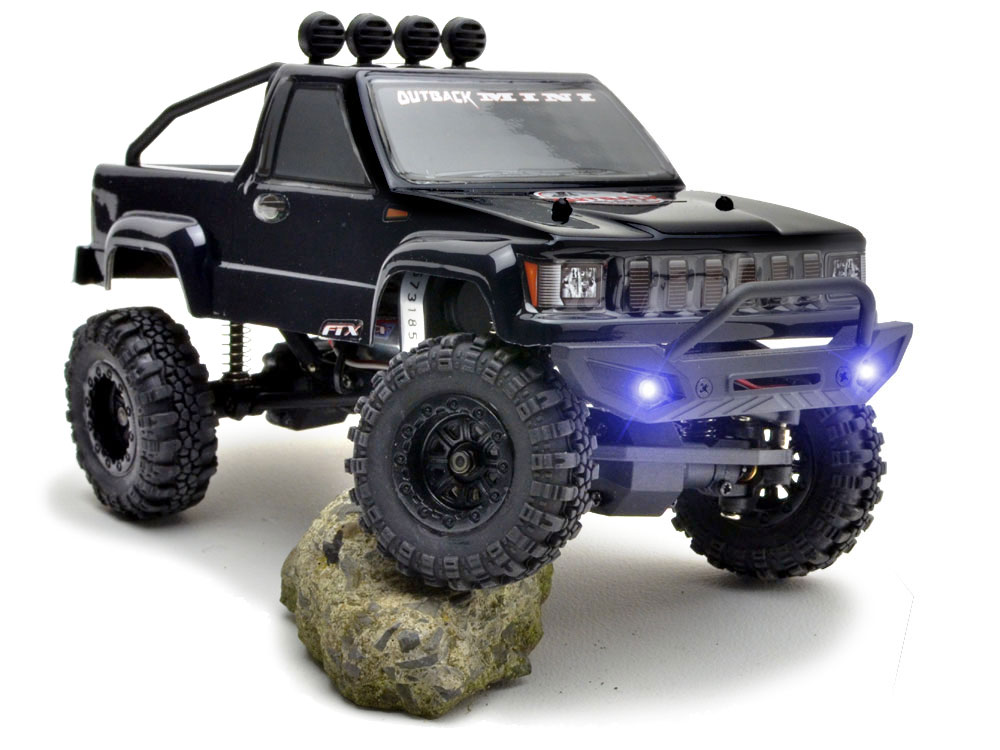 FTX Outback Mini 1:24 Trail Ready-To-Run - Black with LiPo FTX5502BK-L