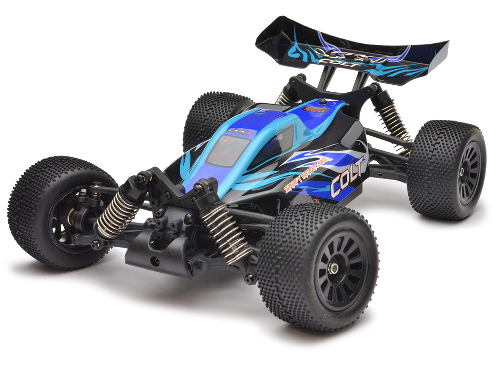 FTX Colt 1/18th 4wd Buggy RTR - Blue/Black FTX5505