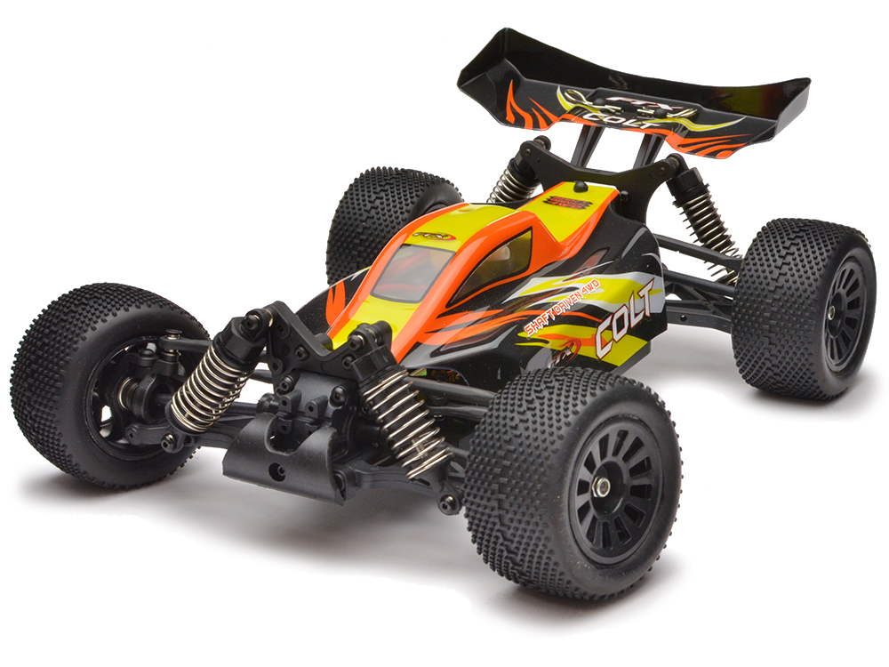 FTX Colt 1/18th 4wd Buggy RTR - Black/Orange FTX5506