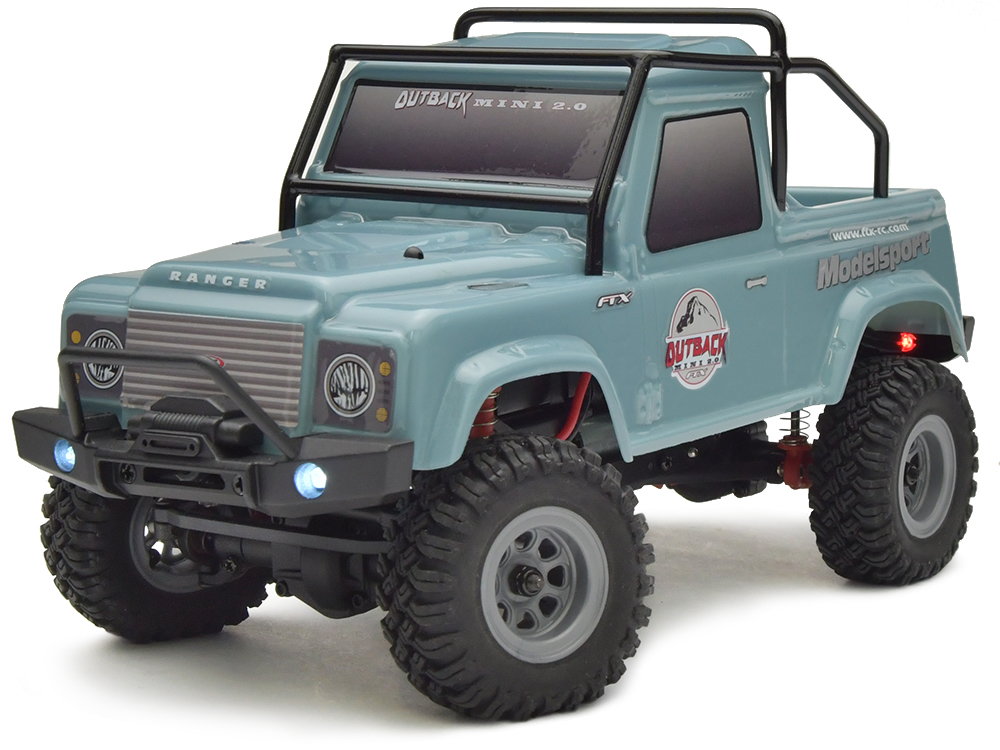 FTX Outback Mini 2.0 Ranger 1:24 RTR - Light Blue FTX5507LB