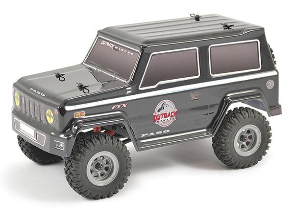 FTX Outback Mini 2 0 Paso 1:24 Ready-to-Run - Black FTX5508BK