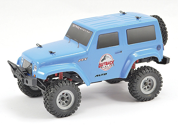 FTX Outback Mini 2.0 Alto 1:24 Ready-to-Run - Blue FTX5509BL