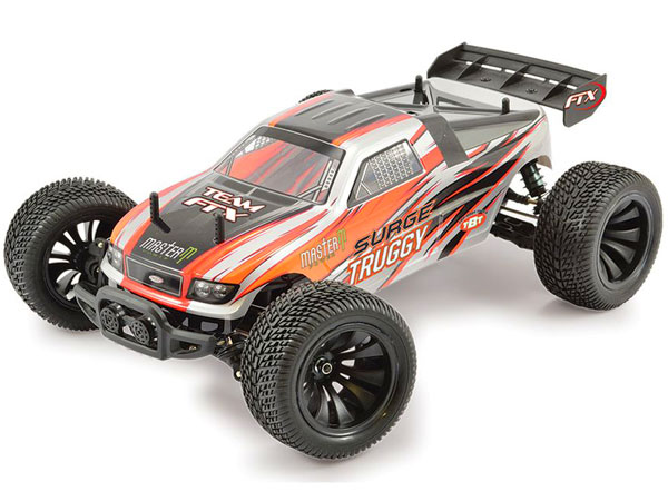FTX Surge RTR 1/12th Scale Electric Truggy - Orange FTX5514O