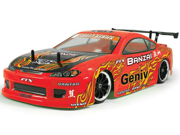 FTX Banzai 1/10th Scale 4WD RTR Brushed Electric Street Drift Car FTX5529