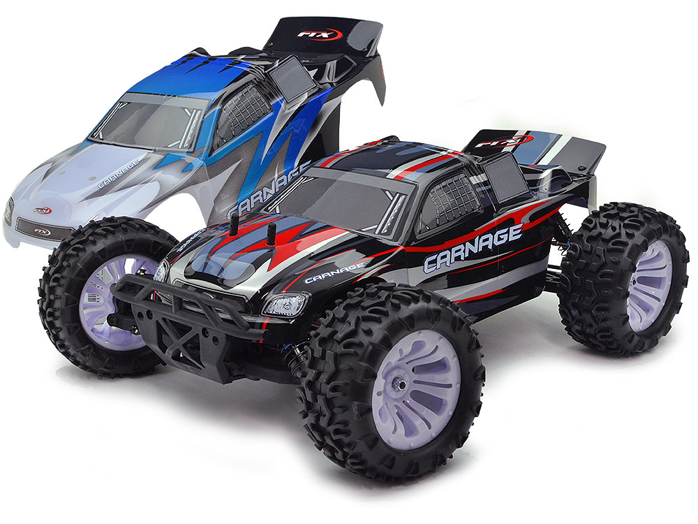 FTX Carnage 1/10 4WD Brushed Truggy Special Edition (Red - 2 Body) FTX5538-R2