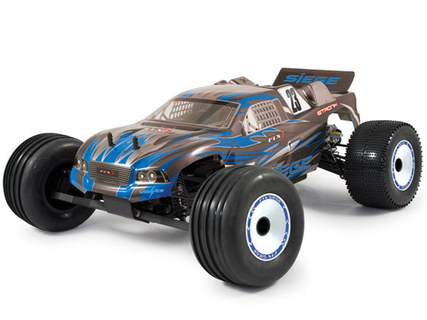 FTX Siege 1/10th Brushed RTR 2WD Electric Truggy - Blue FTX5554B