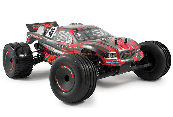 FTX Siege 1/10th Brushed RTR 2WD Electric Truggy - Red FTX5554R