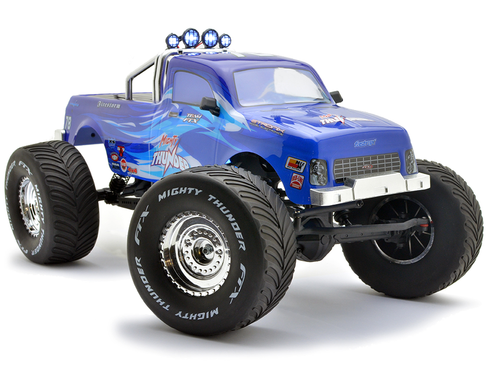 FTX Mighty Thunder 4WD RTR 1/10th All-Terrain-Monster-Truck - Blue FTX5573B