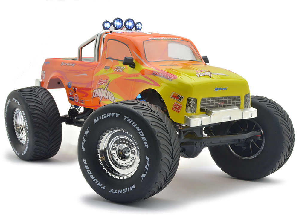 FTX Mighty Thunder 4WD RTR 1/10th All-Terrain-Monster-Truck - Orange FTX5573R