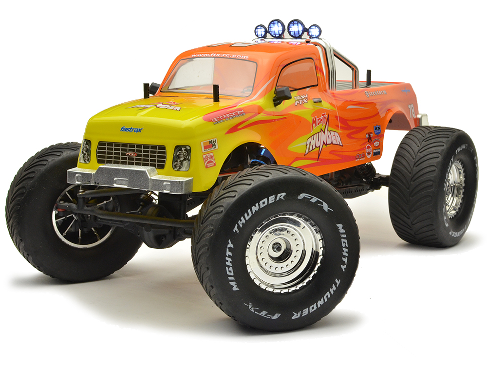 FTX Mighty Thunder 4WD RTR 1/10th All-Terrain-Monster-Truck - Orange (Pre-Owned) FTX5573R-U1