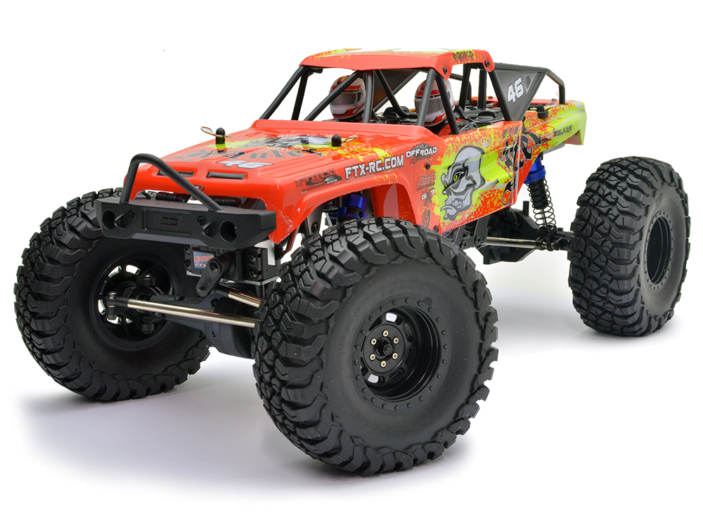 FTX Mauler 4x4 Rock Crawler RTR - Red FTX5575R