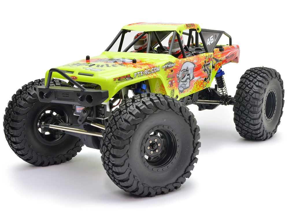 FTX Mauler 4x4 Rock Crawler RTR - Yellow FTX5575Y