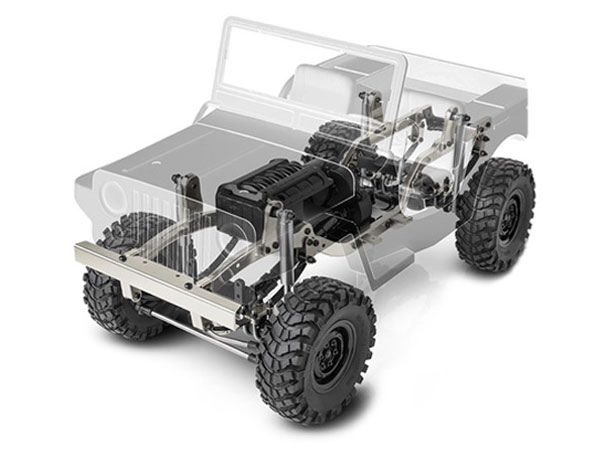 GMade Sawback 1/10th Scale Crawler Kit GM52000