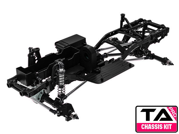 GMade 1/10 GS02 TA Pro Chassis Kit GM57001