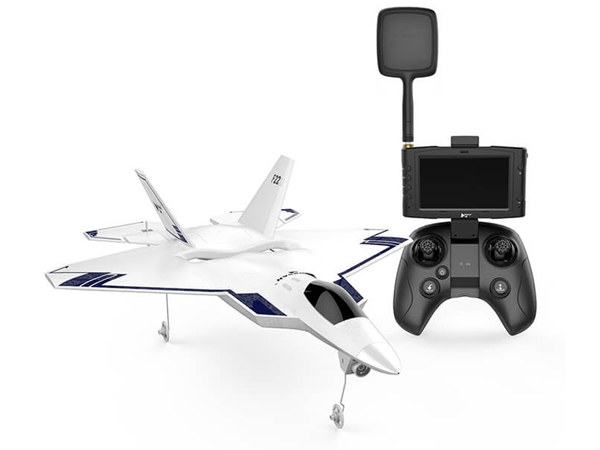 Hubsan F22 FPV Jet with Auto Take Off ,GPS,RTH,720P and Screen H-F22HIGH