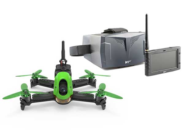 Hubsan X4 Jet Racing Drone with HT012D TX and FPV Goggles H123D