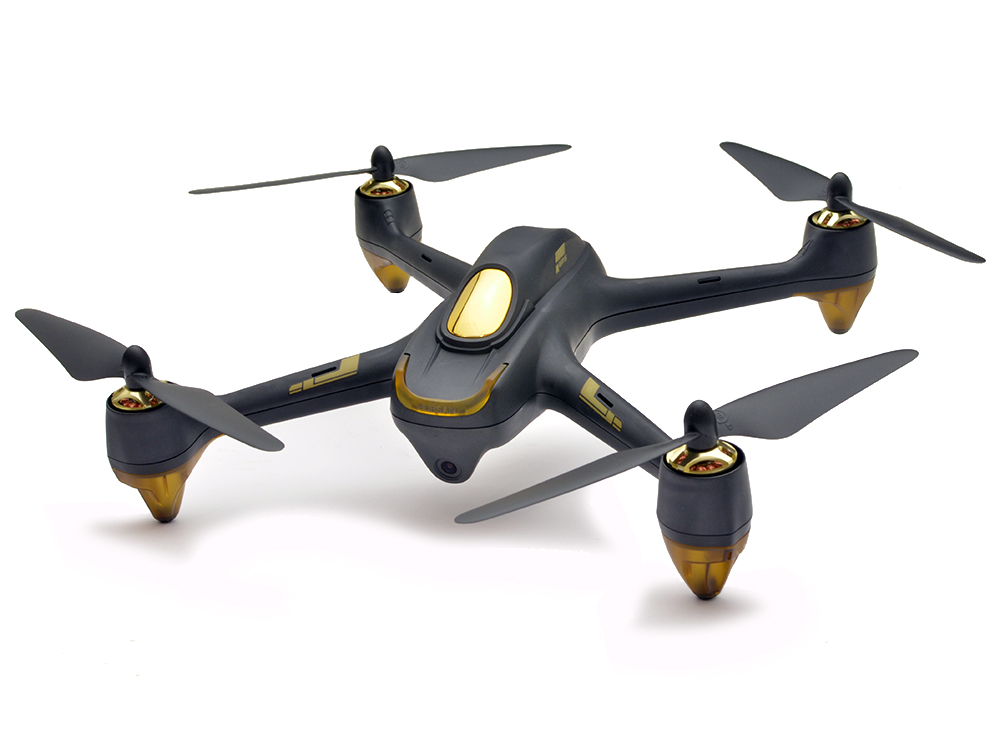 Hubsan 501S x4 Black FPV Quadcopter Drone with GPS H501S