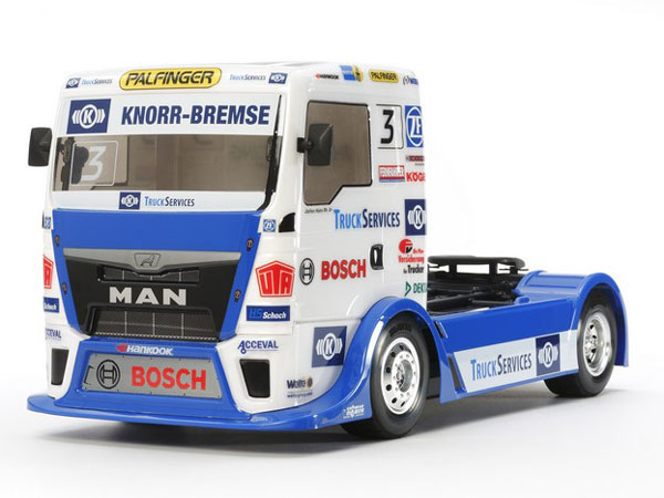 Tamiya Team Hahn Racing MAN TGS - without ESC 58632B